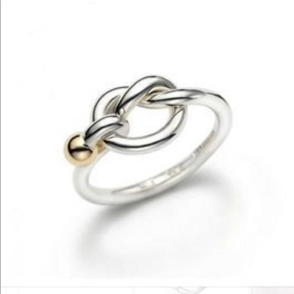762c2dc570ba0 💝 Tiffany & Co. Love Knot Ring